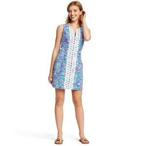 Lilly Pulitzer Target My Fans Print Shift Dress